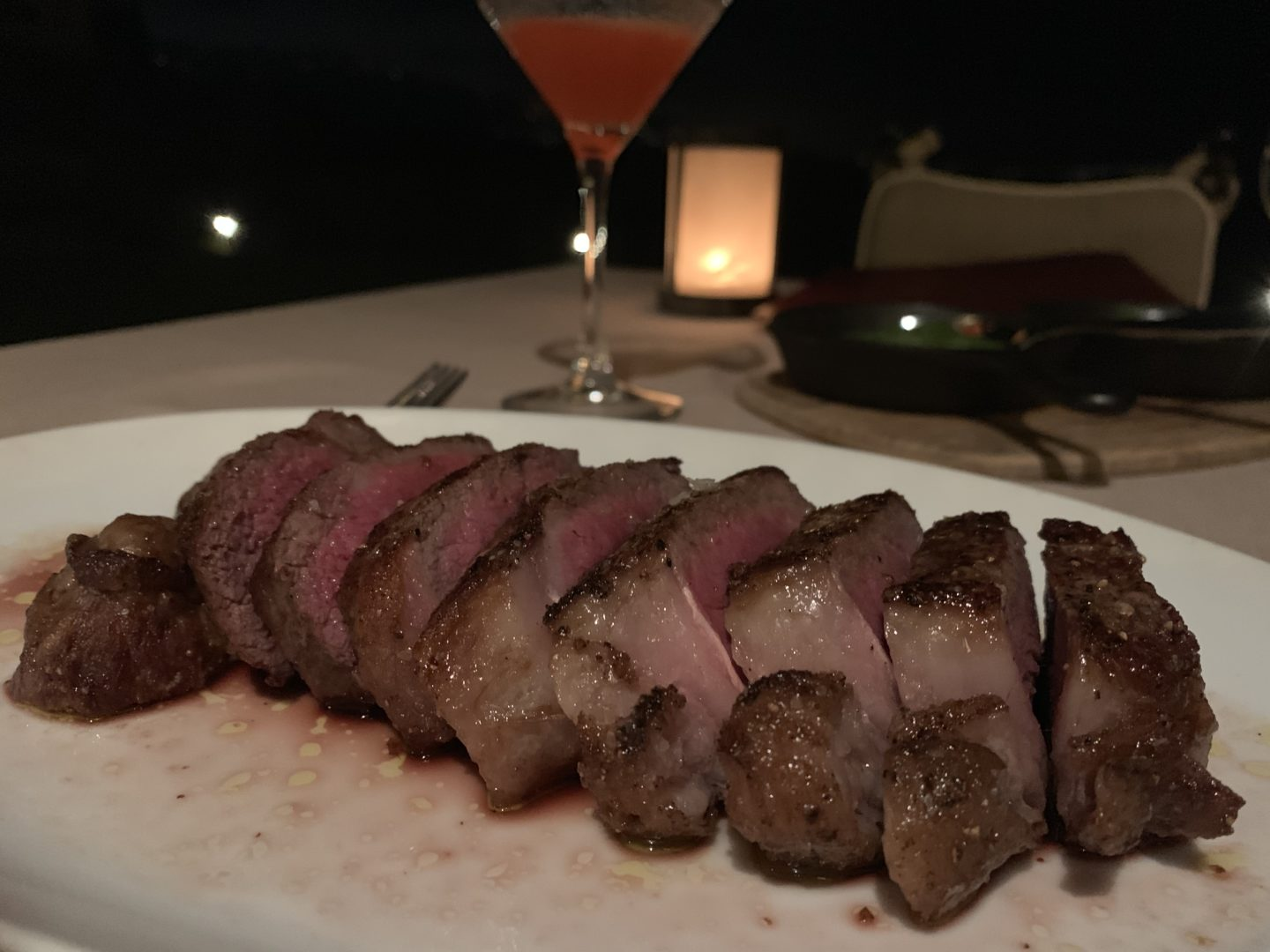 28 day aged NYC strip steak from mar'sel at Terranea 3