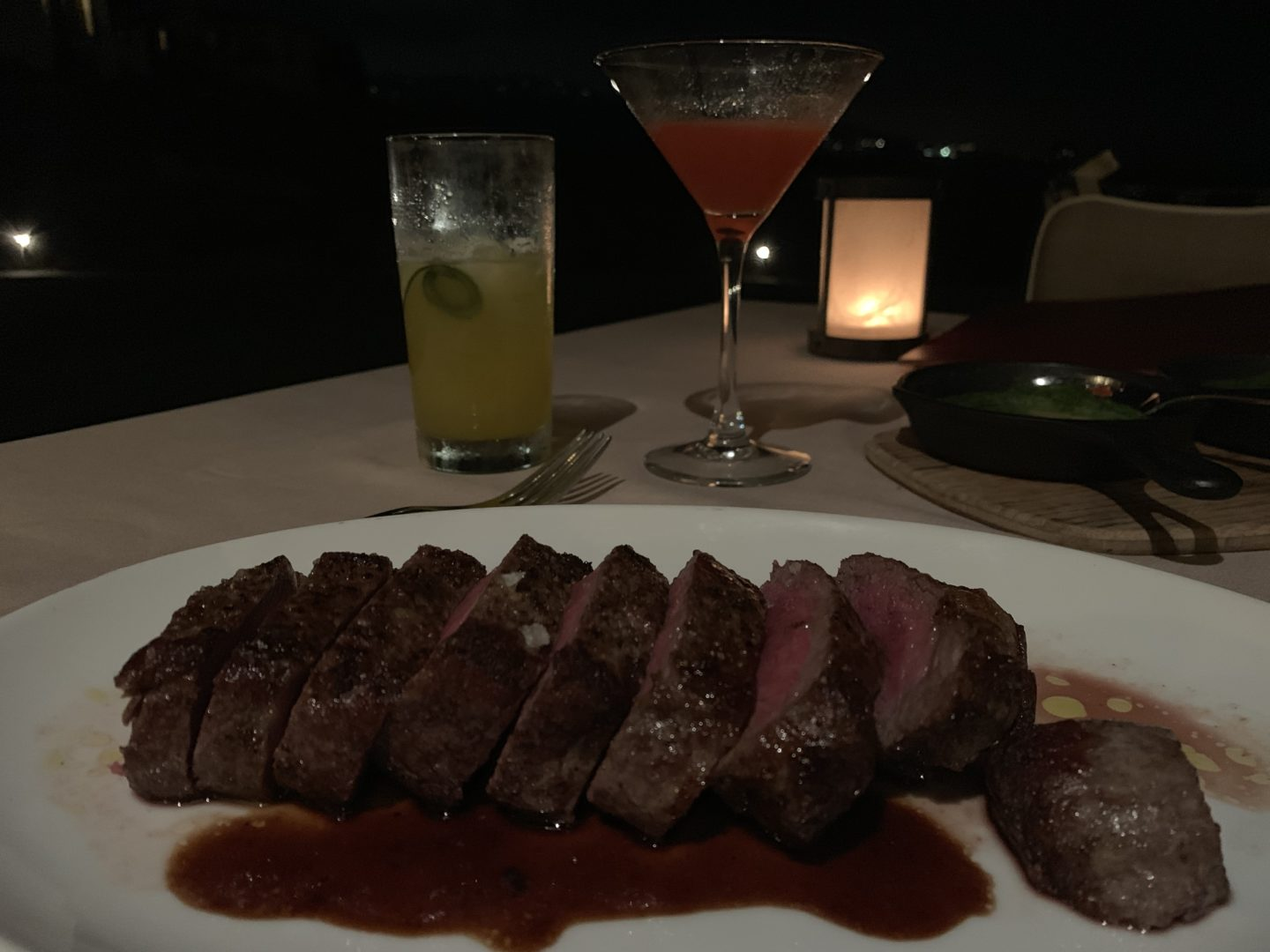 28 day aged NYC strip steak from mar'sel at Terranea 2