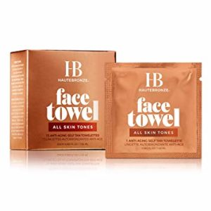 Face Tan Towels All Skin Tones – Fair to Medium to Dark – Self Tanning Wipes 15 pack – Sunless Anti-Aging Tanning Towelettes Provide a Steak-Free Flawless Application